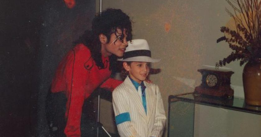 Fotograma del documental Leaving Neverland'