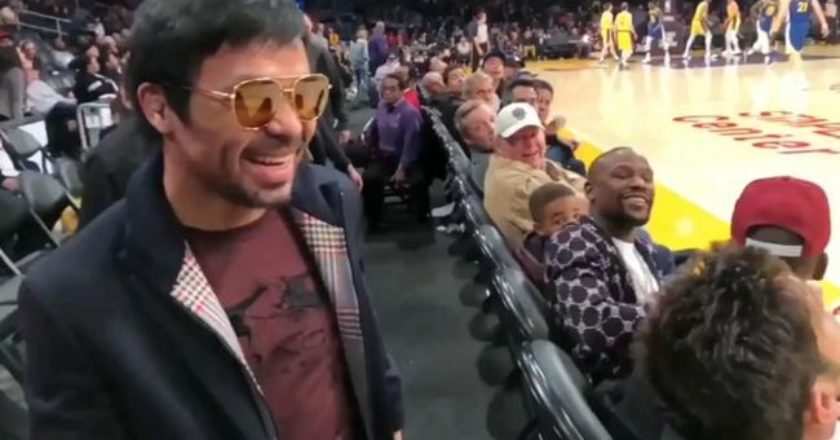Pacquiao y Mayweather planean revancha