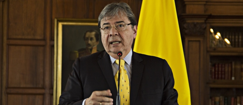 Canciller-Colombia