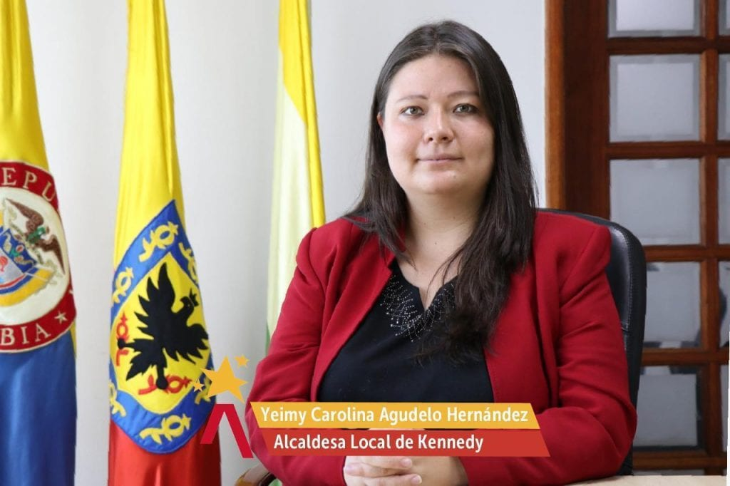 Yeimy Carolina Agudelo Hernández, alcaldesa Local de Kennedy