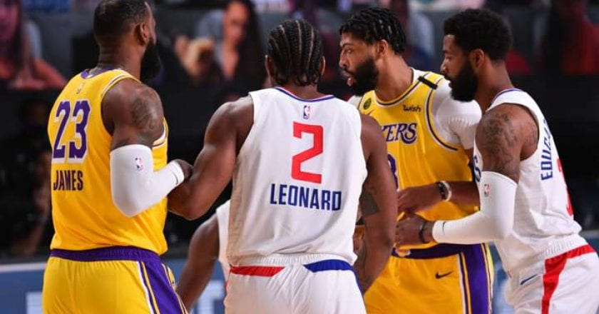 Lakers vs Clippers en NBA