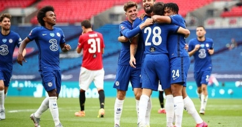Manchester United 1-3 Chelsea