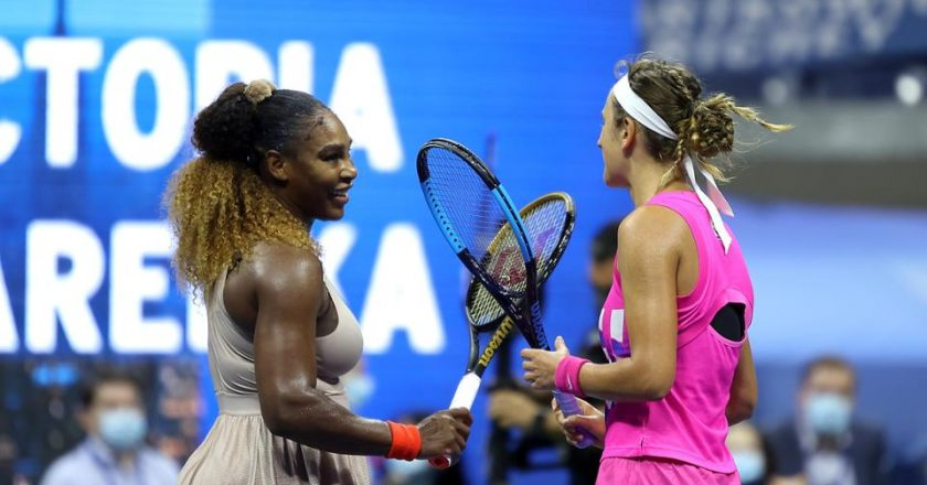 Serena Williams y Victoria Azarenka