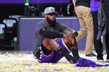 LeBron James con LA Lakers