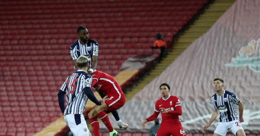 Liverpool 1-1 West Bromwich Albion
